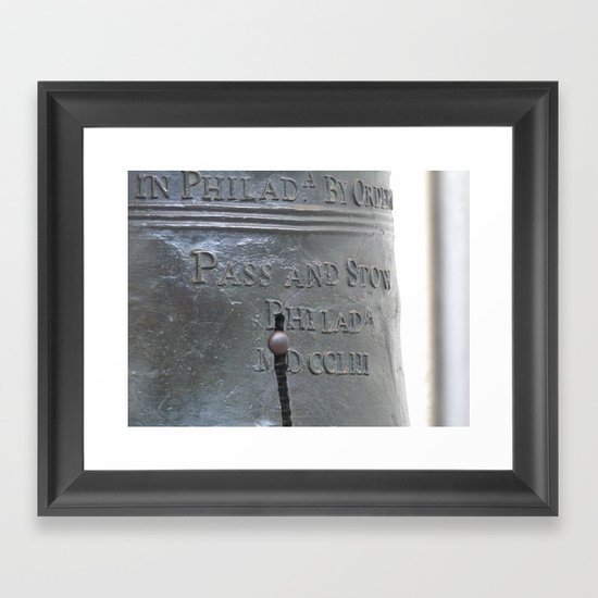 Liberty Bell Philadelphia Framed Art Print
