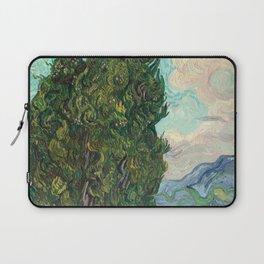 Cypresses by Vincent van Gogh Laptop Sleeve
