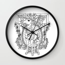 Rival Stag Wall Clock