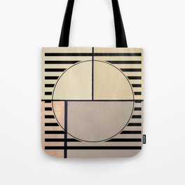 Toned Down - line graphic Tote Bag