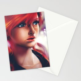 Vanille painting Stationery Cards