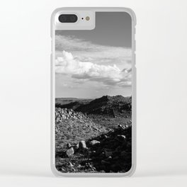 Balanced Rock Overlook, Big Bend National Park Clear iPhone Case