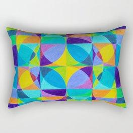 The 'Cross of Light' Effect Rectangular Pillow