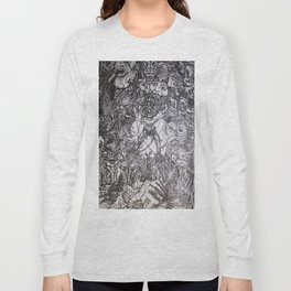 Lithe intention - Strained animation Long Sleeve T-shirt