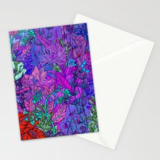 Electric Garden Stationery Cards