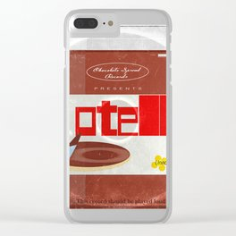 Chocolate spread reco Clear iPhone Case