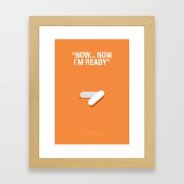 """NOW, NOW IM READY"" - Trainspotting Fanart Poster 2 Framed Art Print"