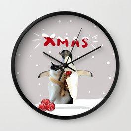 Xmas Joy Wall Clock