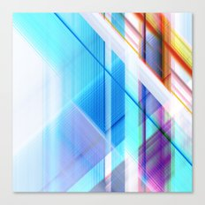 blue elevator Canvas Print