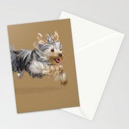 A Yorkie called Joy Stationery Cards