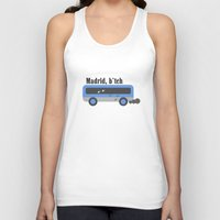 madrid Tank Tops featuring madrid , honey by skip ad