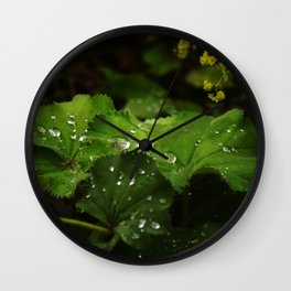 Shot with Dew Wall Clock