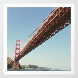 Going My Way In San Francisco Bay Art Print