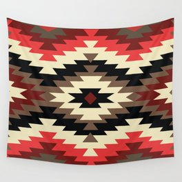 American Native Pattern No. 105 Wall Tapestry