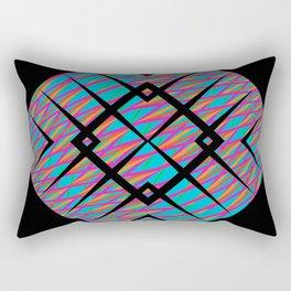 Colors in line - black5 Rectangular Pillow