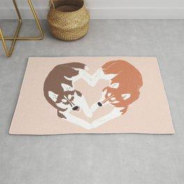 Husky Love | Earthy Rug