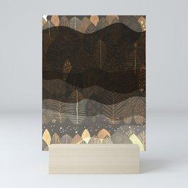 Layers Of Night Mini Art Print