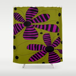 FLOWERY HILDA  / ORIGINAL DANISH DESIGN bykazandholly Shower Curtain