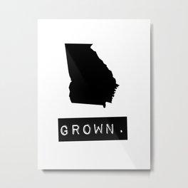 Georgia Grown Metal Print