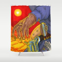 Western Sin / Our Mother the Mountain Shower Curtain