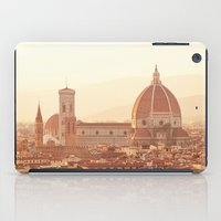 florence iPad Cases featuring Florence Cathedral by happeemonkee
