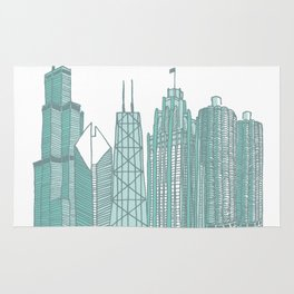 Chicago Architecture Rug