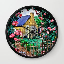Rose Gate Wall Clock
