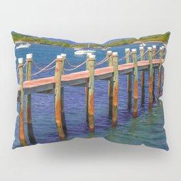 Boat Ramp To Paradise Pillow Sham