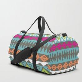 Aztec Pattern No. 17 Duffle Bag