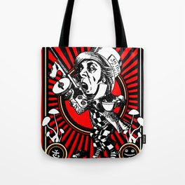 Hatter Red Tote Bag