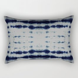 Shibori Strips Rectangular Pillow