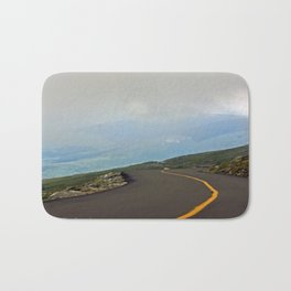 Road in the Clouds Bath Mat
