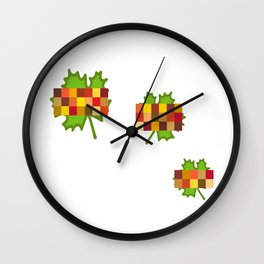 Changing Leaves Wall Clock