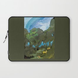 Brewing Storm With Sheep Laptop Sleeve