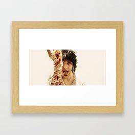 Vegetarian Framed Art Print