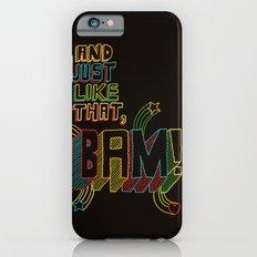 BAM! Slim Case iPhone 6s