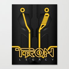 Tron Legacy, Clu Canvas Print