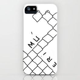 Toca Reja 3/3 iPhone Case