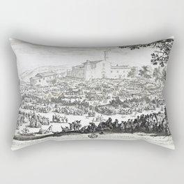 The Fair at Impruneta Rectangular Pillow