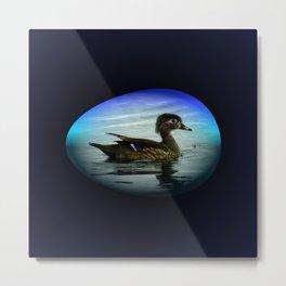 Duck Egg Metal Print