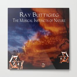 RAY BUTTIGIEG ~ THE MUSICAL INSTINCTS OF NATURE Metal Print
