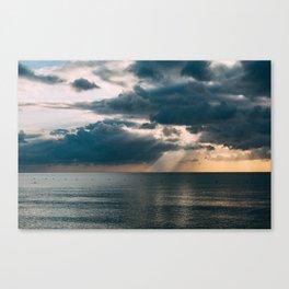 Rain and Rays Canvas Print