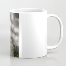 Rain Clouds Over Edinburgh Castle Coffee Mug