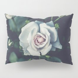 FLOWER - ROSE - WHITE Pillow Sham