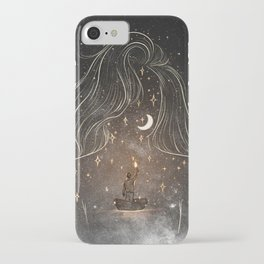 I see the universe in you. iPhone Case