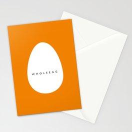 whole egg Stationery Cards