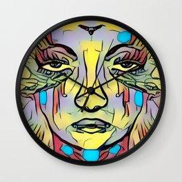 Illustrated 1 Wall Clock