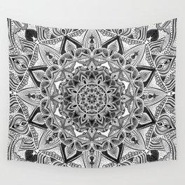 detailed mandala Wall Tapestry