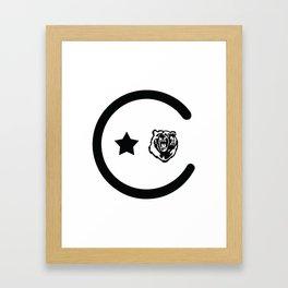 California Icons Framed Art Print