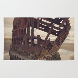 Shipwrecked - The Peter Iredale Rug
